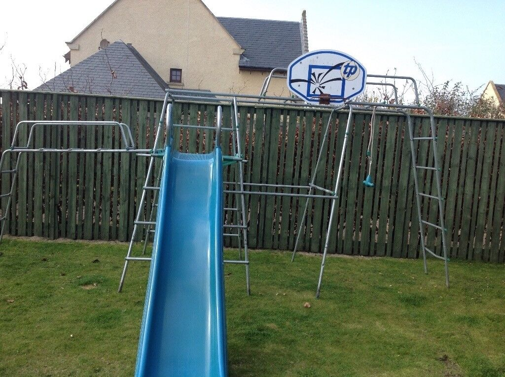 Tp climbing frame with slide & jungle run | in North Berwick, East ...