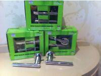 Four pair of internal door handles