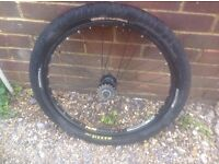 24 inch Down Hill wheel and Maxxis Tyre