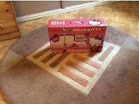 Hello kitty scooter new and in box pink colour a steal at £10 great for Christmas pressie