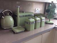 8 piece swan kitchen set