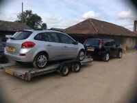 CAR RECOVERY & VEHICLE DELIVERY SERVICE,NORFOLK SUFFOLK ESSEX CAMBS LINCS TEL 07475598341