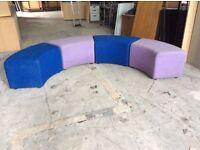 4 Cushioned Reception Seats