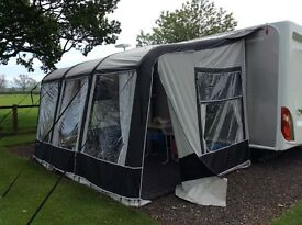 Bradcot Aspire 390 Air Awning complete with Pumps & Ground Sheet