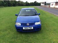 Volkswagen polo 1.4 petrol 51 plate