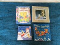 4x kids Christmas books, v good condition