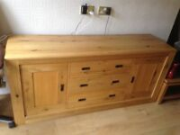Solid oak Cabinet for sale