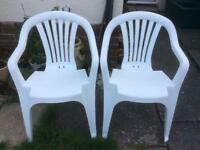 Pair of Lovely Garden Chairs