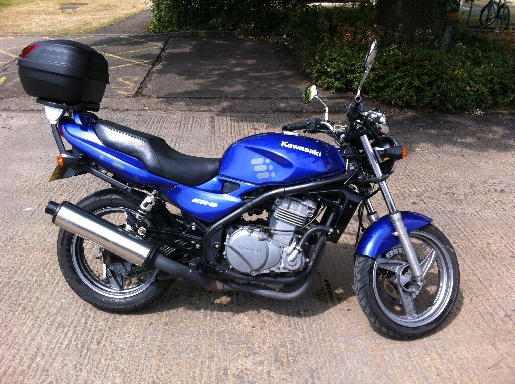kawasaki er 5 great condition in oxford oxfordshire gumtree. Black Bedroom Furniture Sets. Home Design Ideas