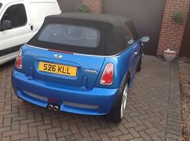 MINI COOPER S CONVERTIBLE LAST OF THE SUPERCHARGED MODEL