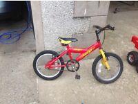 """Boy/girls 16"""" bike"""