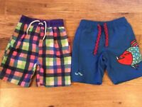 Swimming shorts x2 age 3-4 year old in excellent condition ( one of this short is brand new)