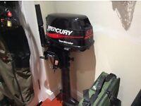 Mercury 5hp outboard 4 stroke