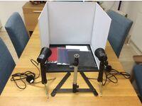 Mini Portable Photo Studio Lighting Kit (Cube/Tent)