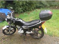 SYM125 k motorcycle