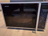 Sharp R959SLMAA 40 litre continuation microwave/oven /grill *free for collection
