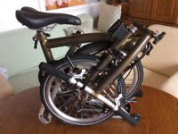 Brompton M6R Lacquer and extras