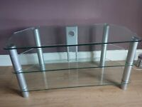 Tv unit and nest tables