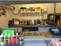 SNACK BAR FOR SALE - 6ft trailer, excellent starter unit.