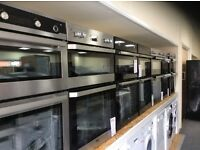 Double electric ovens new graded 12 mths gtee
