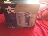 Tommee tippee prep machine with box