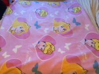 Disney princess fleece blanket