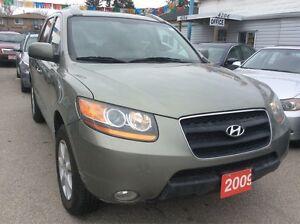 2009 Hyundai Santa Fe AWD NO ACCIDENTS Leather Alloys Bluetooth
