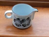 Vintage Hornsea Pottery Jug in Harmony Pattern.