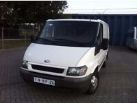 VERY NEAT LEFT HAND DRIVE FORD TRANSIT VAN, DRIVES PERFECTLY,GOOD LOAD SPACE, PAPERS SORTED.CALL ME