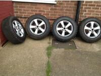 4x4 Tyres and Alloys