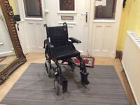 Wheel chair Action 2