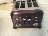 Black Morphy Richards Toaster