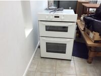 Indeset double oven