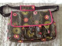 Billy Bag London Changing Bag with mat & accessories bag £15 price does not include delivery costs