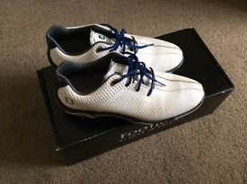 Footjoy junior golf shoes with box uk 4 hardly worn