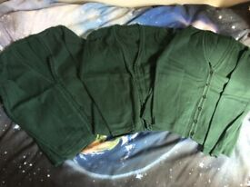 School cardigans green - excellent condition