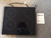 NEFF Induction 4 ring hob in excellent condition *recently reduced*