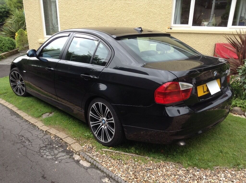bmw 320d in gleaming 2007 in rogerstone newport gumtree. Black Bedroom Furniture Sets. Home Design Ideas