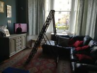 LOVELY wooden ladders for upcyle