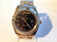 Rolex - Day date– All gold gold – 40mm black face
