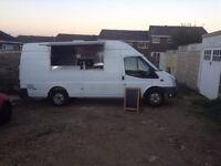 Mobile Catering Van For Sale, Long Wheel Base.
