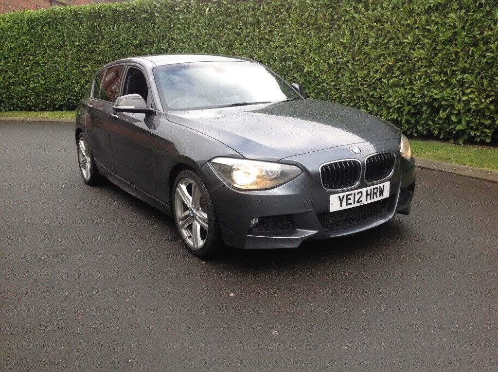 BMW 1 SERIES M SPORT F20 177 BHP FULLY LOADED 73 K FULL BMW HISTORY GREAT BARGAIN PRICE AT £6875 ✅✅✅