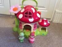 Elc Happyland toadstool fairy house