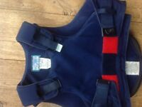 Body / back body protector child's for horse-riding - air o wear