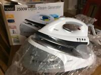Binary 2500 watt Steam Generator iron