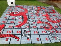 Giant Garden Snakes and Ladders
