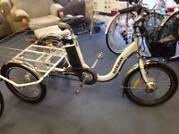 Electric trike. Excellent condition.