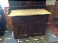 Antique Kitchen Dresser Sideboard REDUCED IN PRICE