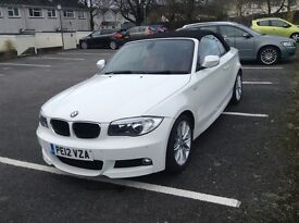 BMW 118d convertible M Sport, low mileage 1 year MOT, immaculate stunning car.
