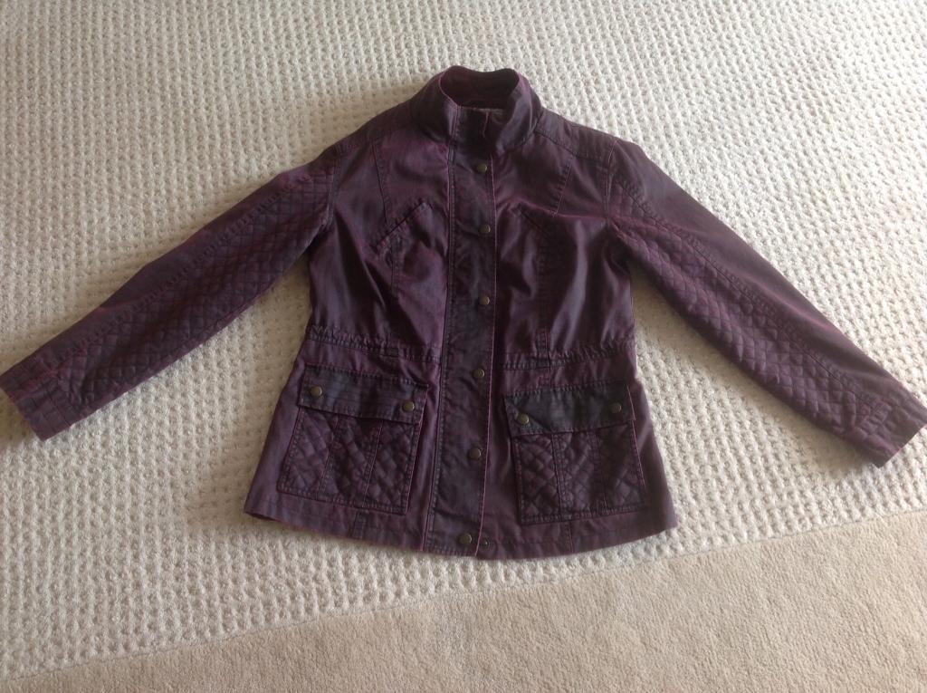Ladies Wax look Jacket size 12